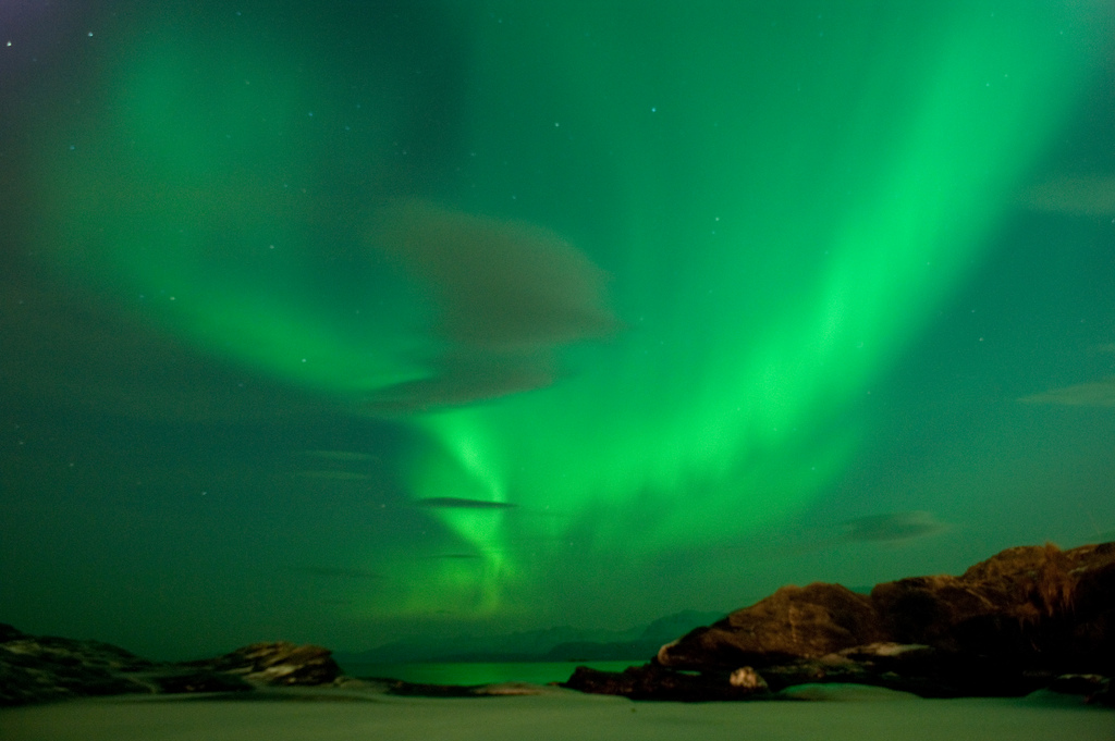 Aurora Borealis, by Fredrik Bølstad on flickr.com (CC BY-SA 2.0)
